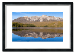 Fine art framed print of Beinn Eighe