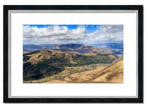 Fine art framed print of Glen Nevis