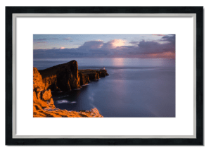 Fine art framed print of Neist Point, Skye