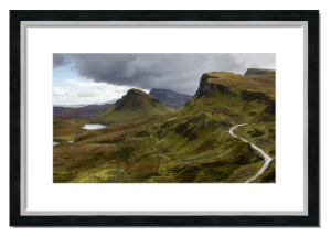 Fine art framed print of The Quiraing, Skye