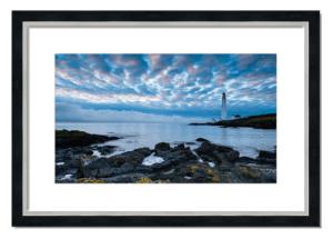Fine art framed print of Scurdie Ness