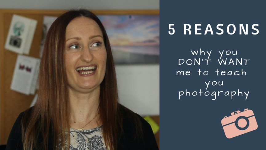 5 reasons why you don't want 1-2-1 photography tuition from Anne Johnston