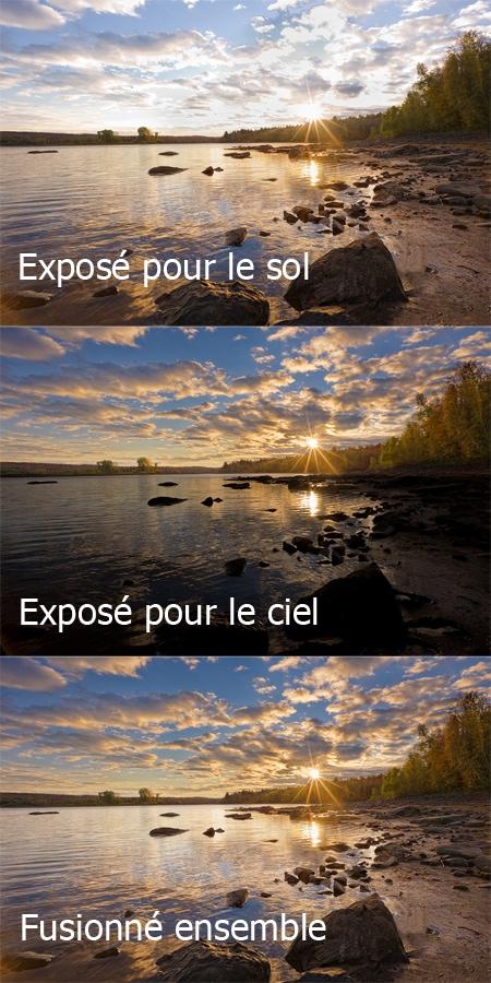 Démo - Fusionner deux images dans Photoshop