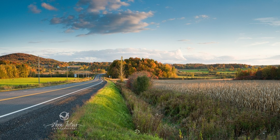 panorama - belles photos d'automne