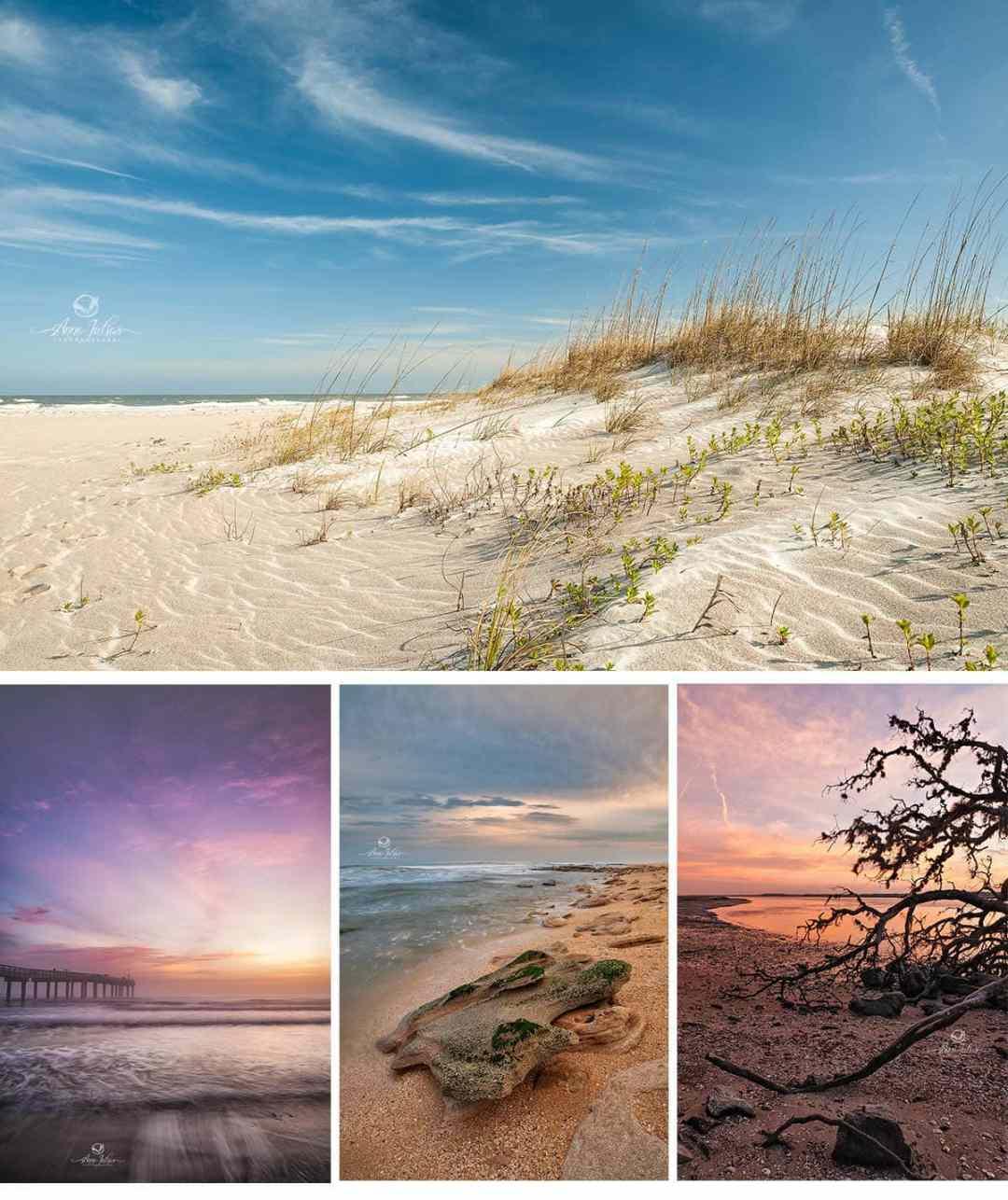 Les plages, St-Augustine, Floride