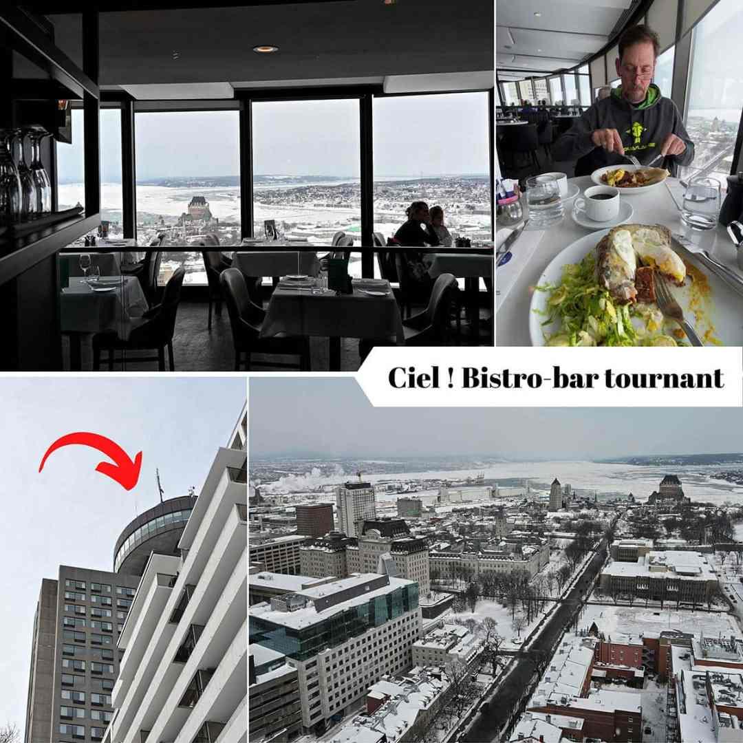 Vieux Québec : bistro-bar le Ciel !