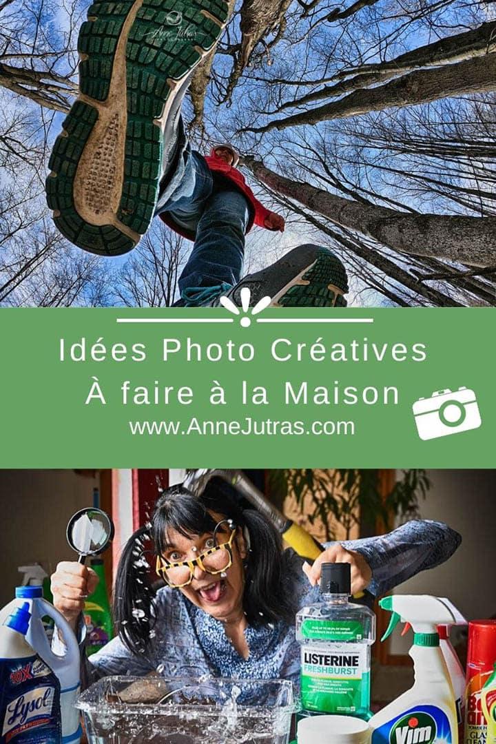 Idées photo créatives à faire à la maison
