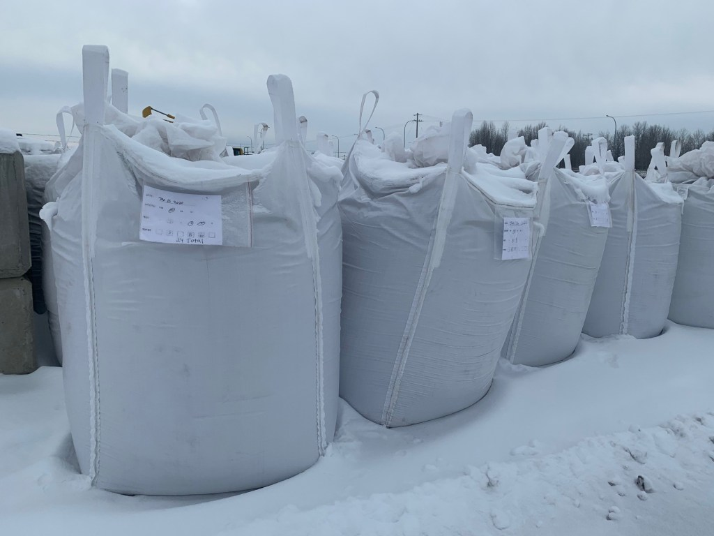 Annelida worm  castings 1600 lbs bulk totes
