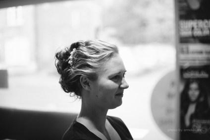 Huwelijksfotograaf Jens & Nathalie - Beernem - voorbereidingen - kapper alex 3