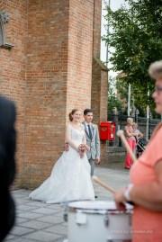 Huwelijksfotograaf - Aalter Kasteel Poeke - Beernem Kerk - Fanfare