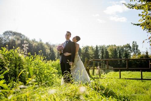 Huwelijksfotograaf Joke & Tom Oostkamp Oktober Zonnig