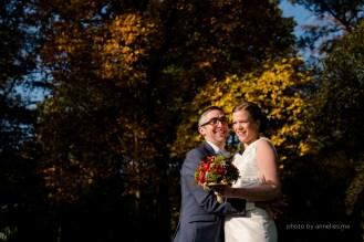 Herfsthuwelijk brugge bos zuienkerke huwelijksfotograaf