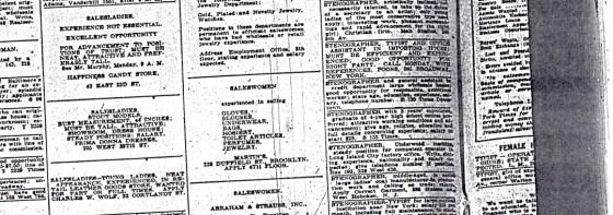 More newspaper items