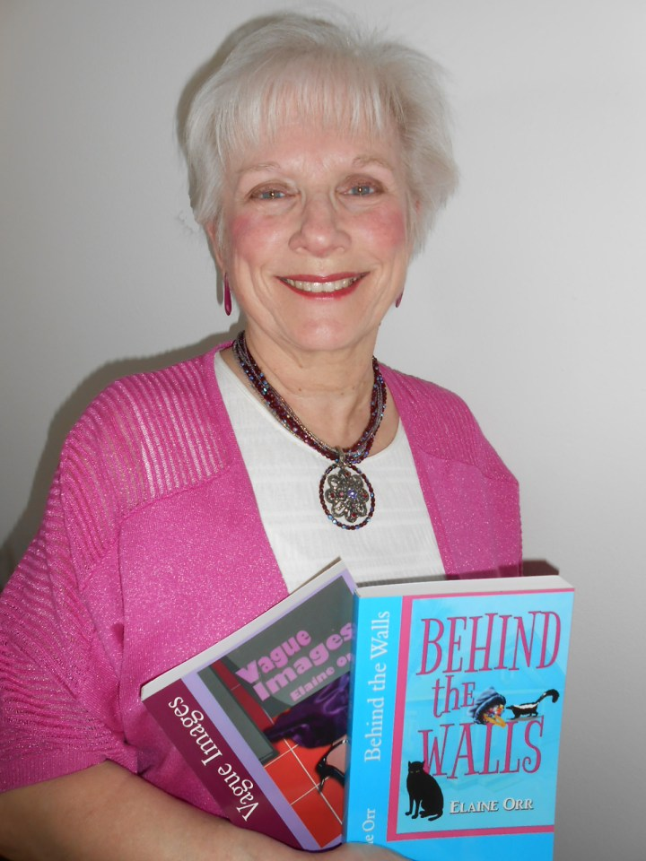 Cozy mystery author Elaine L. Orr.