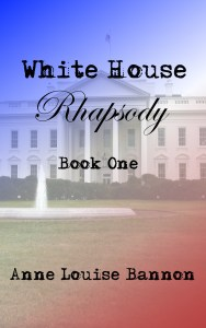 Cover for White House Rhapsody, a romance fiction serial