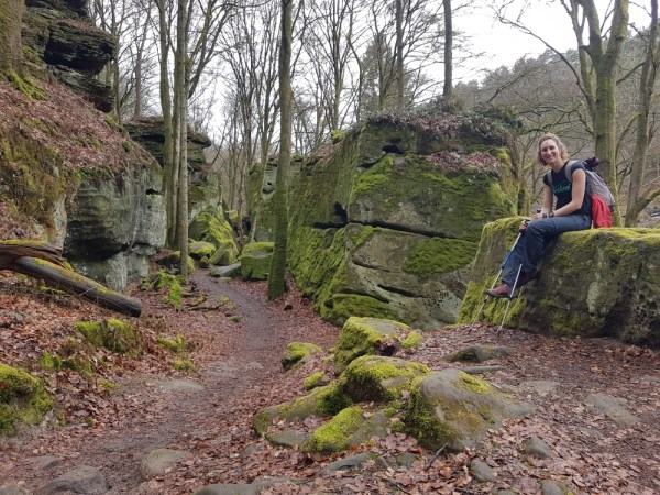 rotsen op de mullerthal trail