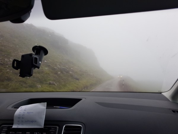 North Coast 500 - Pass of the Cattle in de mist
