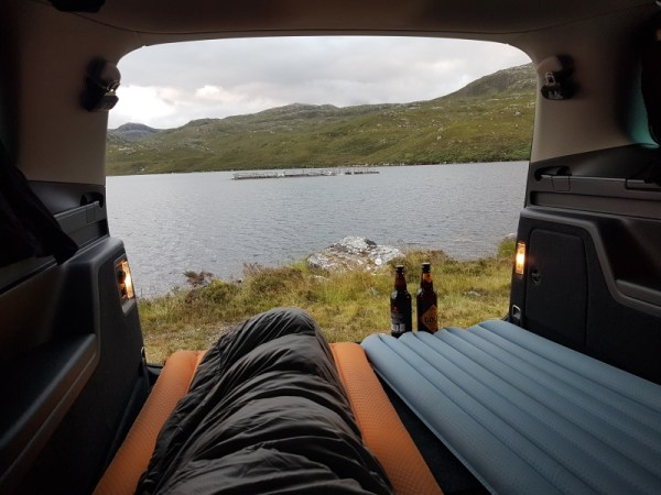 Zicht op Loch Tolie