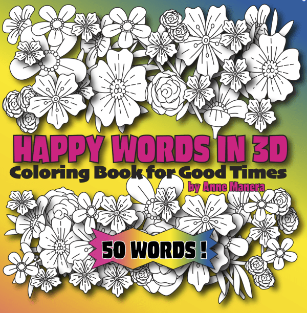 Words & Sayings Coloring Books