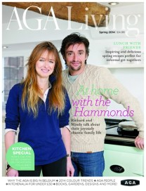 Aga Living Magazine cover