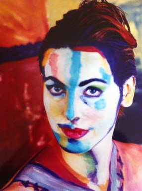 Body painting inspired by Mme Matisse painting photograph by Philip Lee Harvey