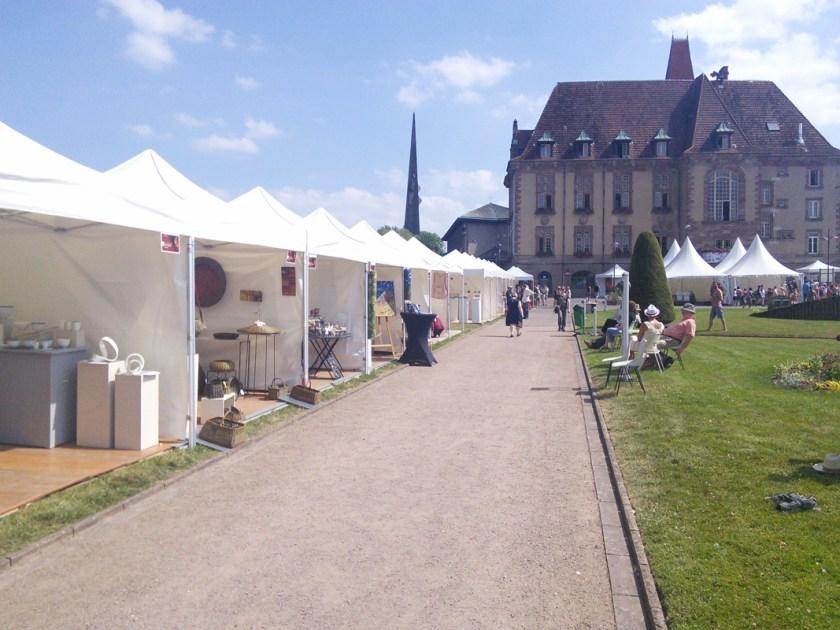 FIMA 2017 Festival International Metiers d Art Baccarat Lorraine stand Verron artisanat sculpture textile