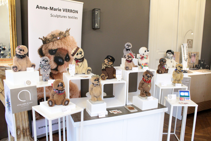 Sculptures textiles Anne Marie Verron week end createurs Villers Nancy chateau madame Graffigny metiers d art Grand Est