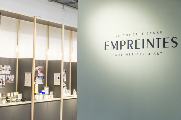 Empreintes Paris concept store metiers d art artisanat Ateliers d'Art de France