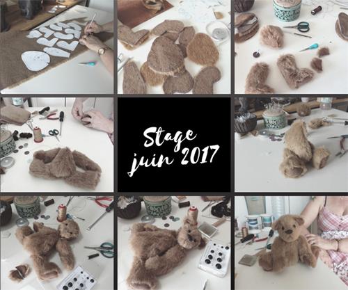 Cours stage ours de collection atelier Heillecourt Grand Est Lorraine
