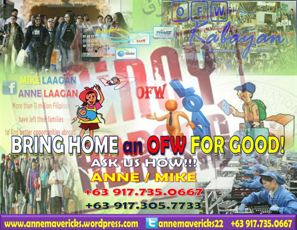 VMOBILE | Bring Home an OFW For Good! (1/2)