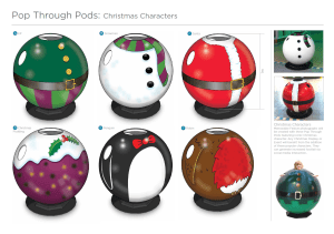 Interactive Christmas Display - Product Design, Product Development