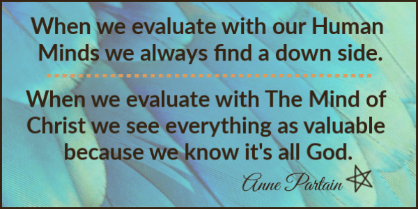Anne Partain Meme - When we evaluate