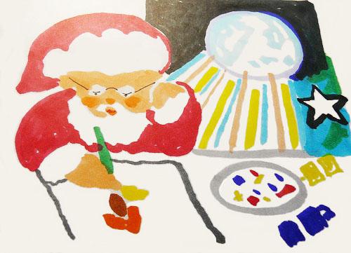 Santa by Anne Rockwell