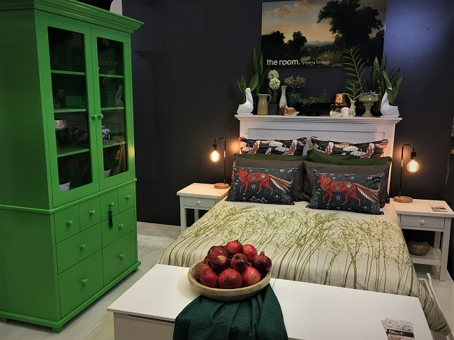Indigo Blues and Forest Greens at Decorex Cape Town