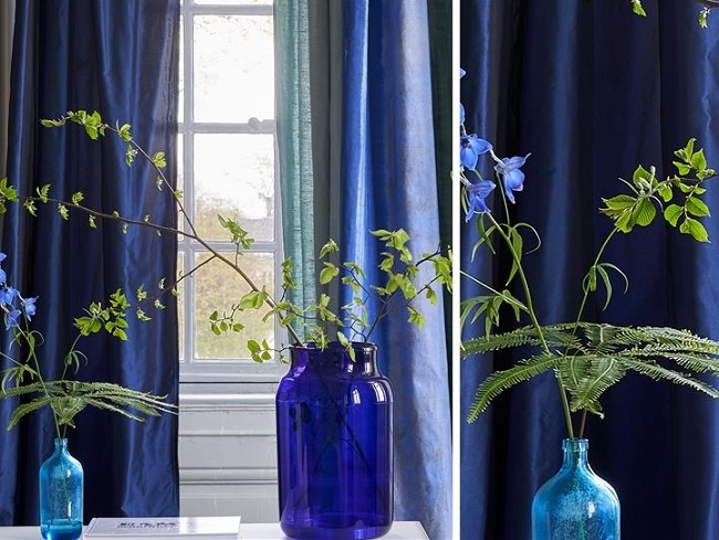 Hyper Blue Trend in Interiors