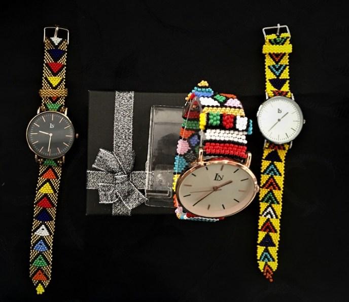Zulu Beadwork Watches