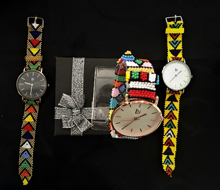 Zulu Beadwork Watches
