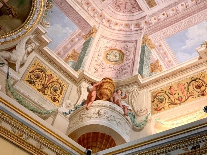 Galleria Borghese - Trompe l'oeil - Putti and Sphinxes: Pietro Novelli, 1781