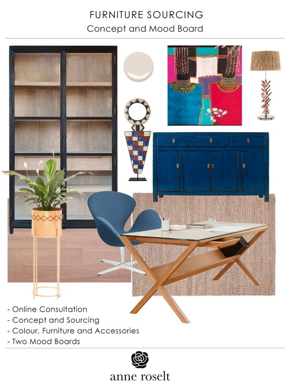 Design Services Furniture Mood Board