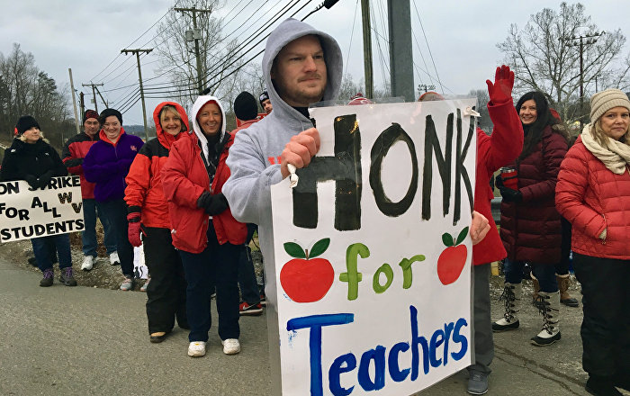 WV L awmakers  Slam  Brakes  on  Personal  Charter  Schools  After  Public  Teacher  Strike
