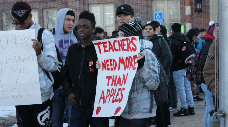 Denver  instructors  to  end  strike  after  school  authorities  agree  to  raise  pay