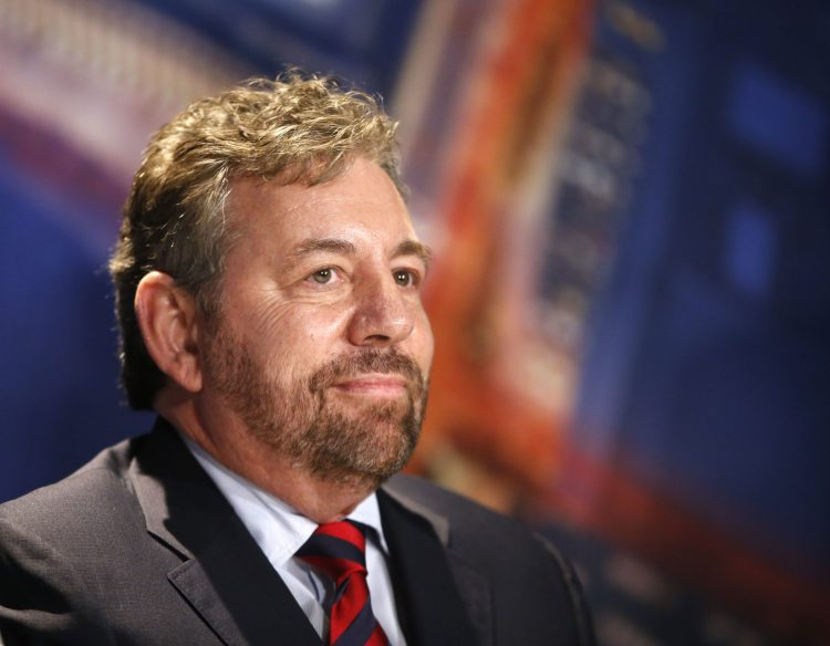 Denver Knicks owner James Dolan tests positive for coronavirus – Yahoo Sports
