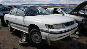 Denver Junkyard Gem: 1994 Subaru Legacy LS 4WD Sedan