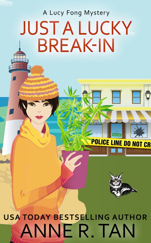 Just A Lucky Break-In (Lucy Fong Mystery #2)