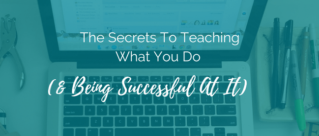 secrets to teaching
