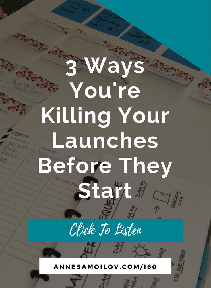 How To Stop Killing Your Launches Before They Start