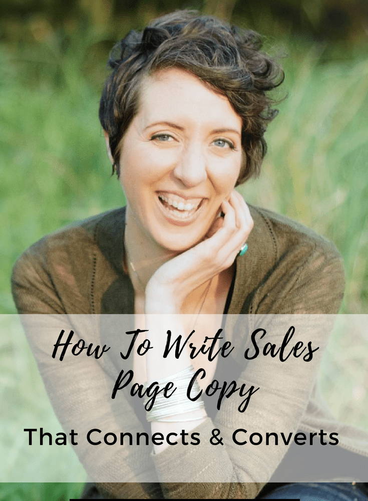 How To Write Sales Page Copy That Connects & Converts