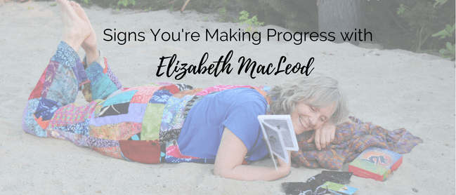 making progress in your business and life