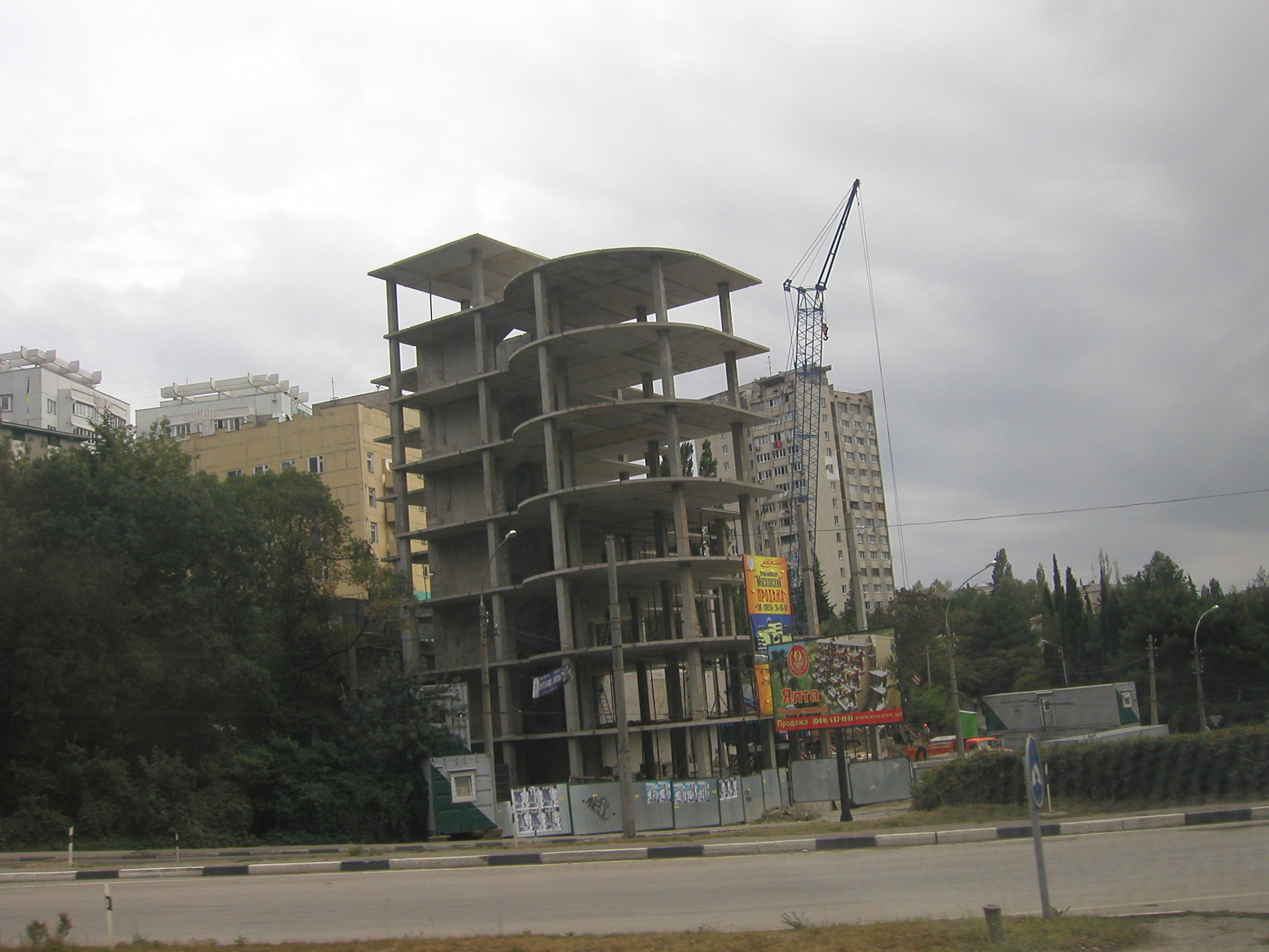 Construction Everywhere in the Ukraine