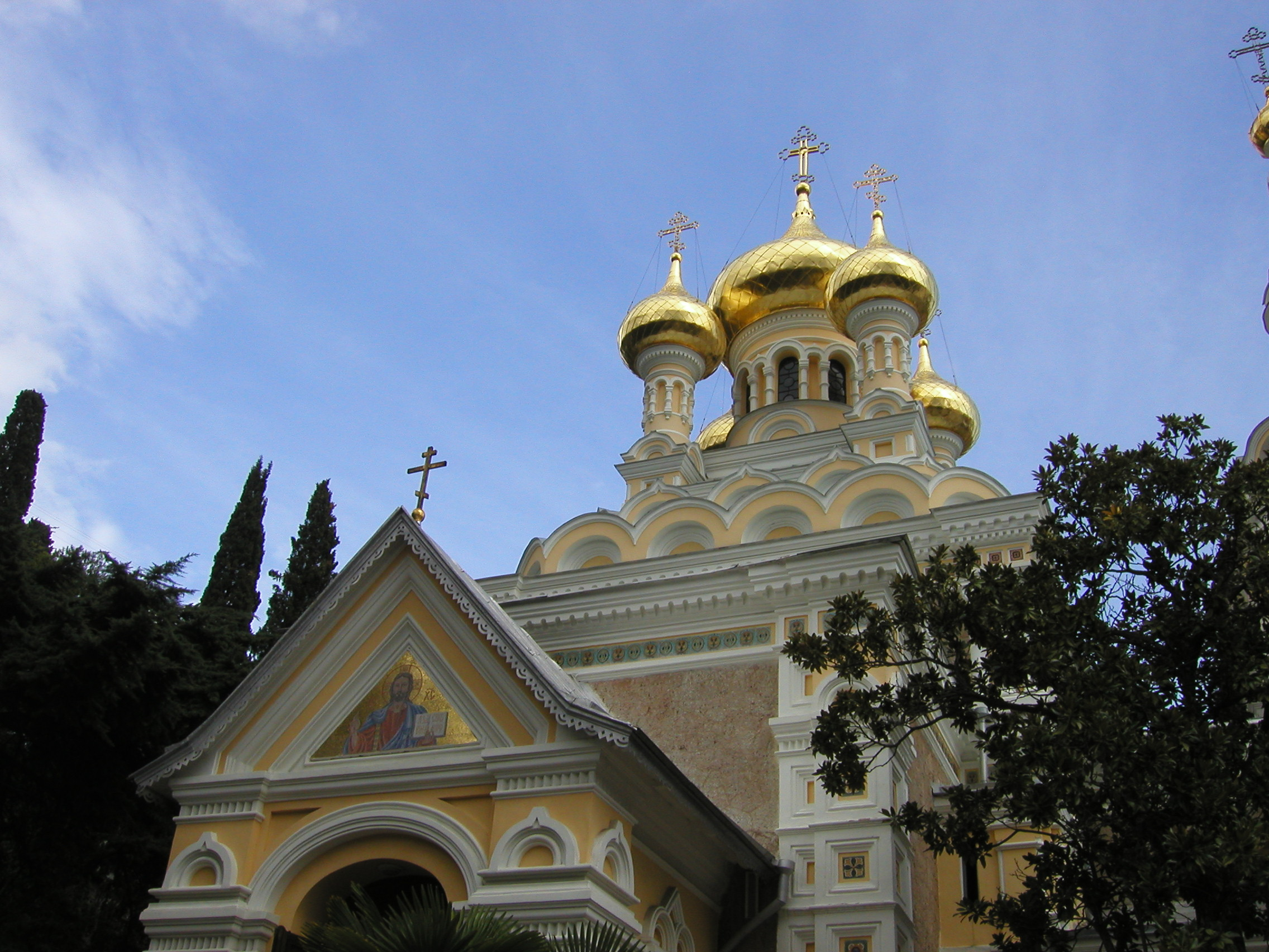 Cathedral in Yalta
